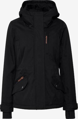 Oxmo Between-Season Jacket 'BELISSA' in Black