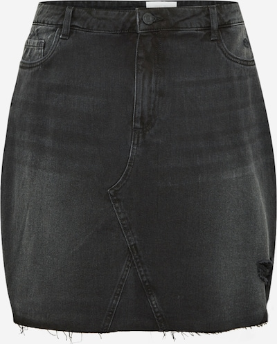 Noisy May Curve Rok 'FREJA' in de kleur Black denim, Productweergave
