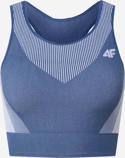 4F Sporta krūšturis zils / debeszils, Preces skats