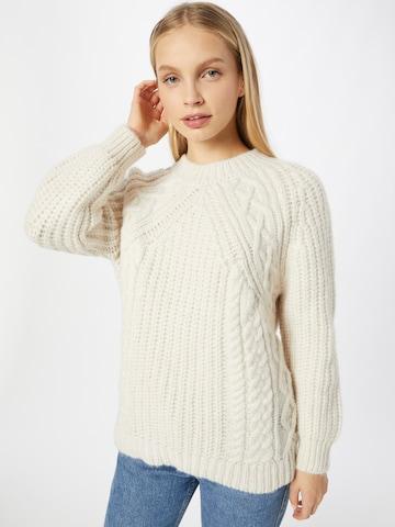 smėlio ABOUT YOU Megztinis 'Leila'
