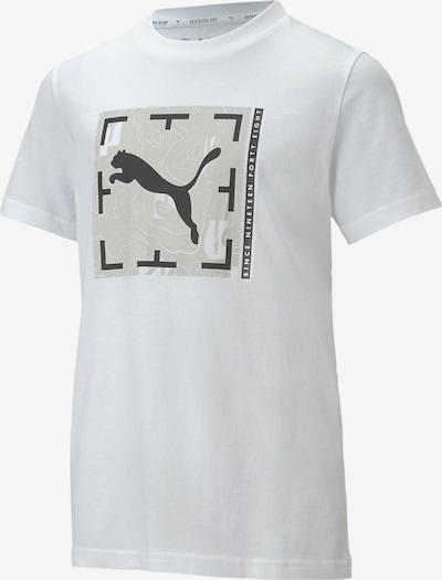PUMA Camiseta funcional en negro / blanco, Vista del producto