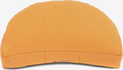 Yogishop Kissen 'Darshan Neo' in orange, Produktansicht