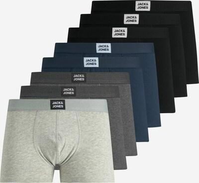 JACK & JONES Boxershorts in de kleur Navy / Lichtgrijs / Donkergrijs / Zwart, Productweergave