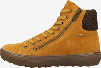 Legero Bottines à lacets en jaune, Vue avec produit