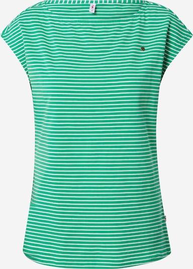 Blutsgeschwister Shirt in de kleur Groen / Wit, Productweergave