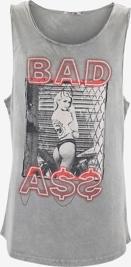 trueprodigy Shirt 'Nate ' in grau / mischfarben, Produktansicht