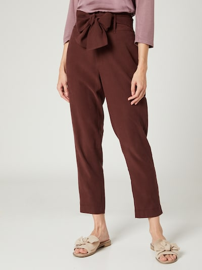 Guido Maria Kretschmer Collection Pants 'Lina' in Brown, View model