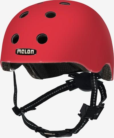 Melon Helm 'Rainbow' in rot, Produktansicht