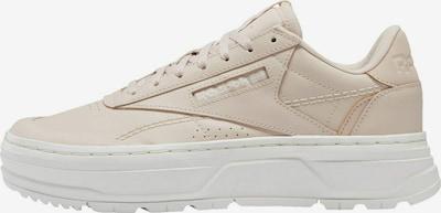 Sneaker low Reebok Classic pe bej, Vizualizare produs