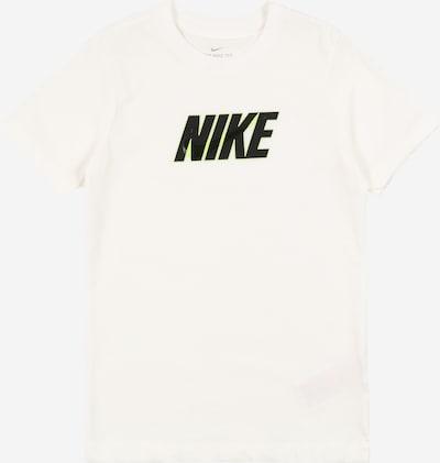 Nike Sportswear T-Shirt in neongelb / schwarz / weiß, Produktansicht