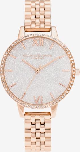 Olivia Burton Uhr in rosegold / weiß, Produktansicht