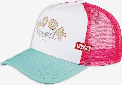 Coastal Cap 'Kook' in mint / mischfarben / pink / weiß, Produktansicht