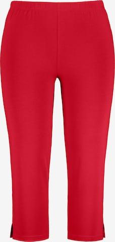 Pantalon Ulla Popken en rouge