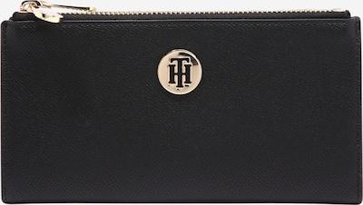 TOMMY HILFIGER Geldbörse  'HONEY' in gold / schwarz, Produktansicht
