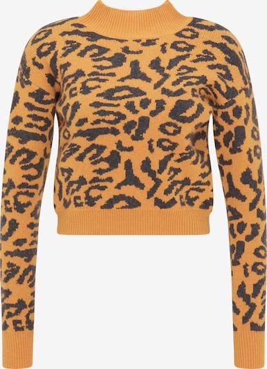 MYMO Pullover in senf / schwarz, Produktansicht