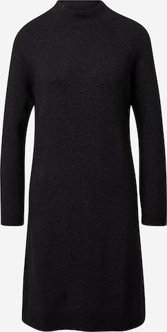 melns TOM TAILOR Adīta kleita