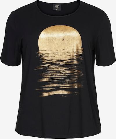 NO.1 by OX T-Shirt in gold / schwarz, Produktansicht