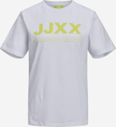 JJXX T-Shirt 'JXAnna' in gelb / weiß, Produktansicht
