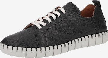SHABBIES AMSTERDAM Athletic Lace-Up Shoes in Black