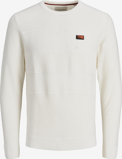 JACK & JONES Strickpullover in weiß, Produktansicht