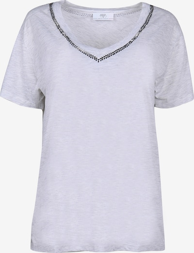 Le Temps Des Cerises T-Shirt AYAN mit Pailletten-Details in weiß, Produktansicht