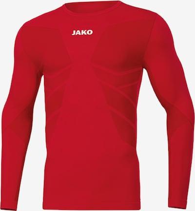 JAKO Base Layer in rot / weiß, Produktansicht