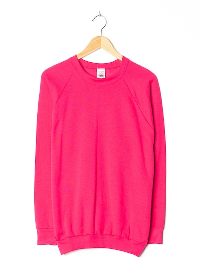 FRUIT OF THE LOOM Pullover in XXL in rosa, Produktansicht