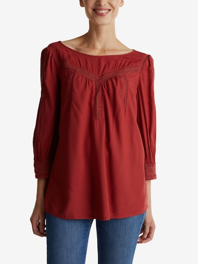 ESPRIT Bluse in rot, Modelansicht