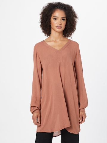 Kaffe Tunic 'Amber' in Red