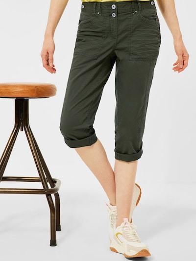 CECIL Hose in khaki, Modelansicht