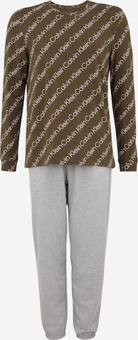 Calvin Klein Underwear Pajamas long in Grey