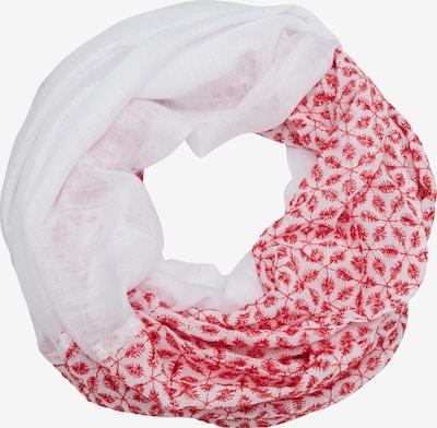 s.Oliver Tunnelsjaal in de kleur Rood / Wit, Productweergave