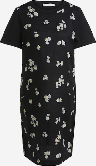 OUI Midi Kleid im Leinen-Jersey Mix in lila, Produktansicht