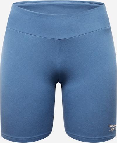 Leggings Reebok Classics pe albastru porumbel / alb, Vizualizare produs