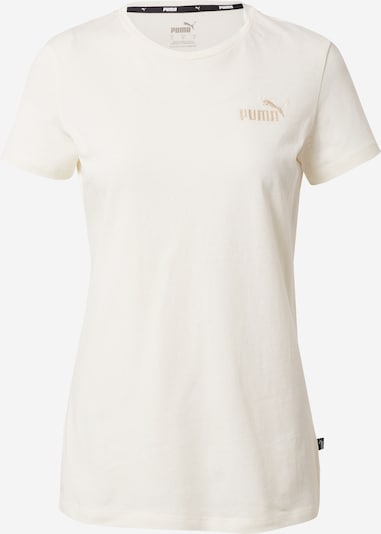 PUMA Camiseta funcional en beige / blanco, Vista del producto