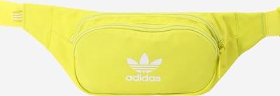 ADIDAS ORIGINALS Чанта за кръста 'ESSENTIAL' в жълто / бяло, Преглед на продукта
