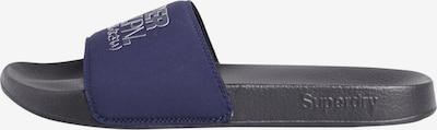 Superdry Strand-/badschoen in de kleur Marine, Productweergave