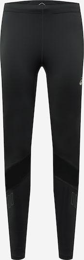 ASICS Pantalon de sport 'LITE-SHOW' en noir / blanc, Vue avec produit