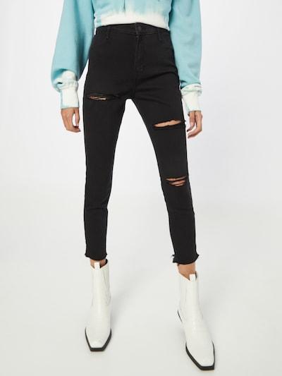 Jeans HOLLISTER pe negru denim, Vizualizare model
