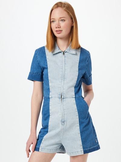 Afends Jumpsuit 'Mimi' in de kleur Blauw denim / Lichtblauw, Modelweergave