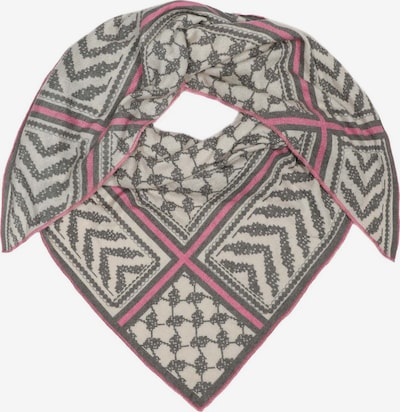 Zwillingsherz Shawl in beige / grey / pink, Item view