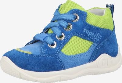 SUPERFIT Lage schoen in de kleur Lichtblauw / Donkerblauw / Groen, Productweergave