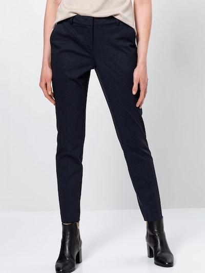 zero Hose in dunkelblau, Modelansicht