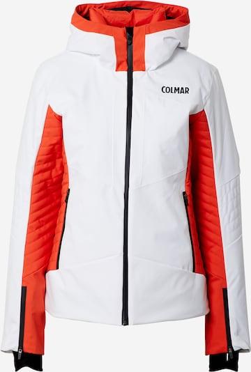 Colmar Veste de sport en orange / noir / blanc, Vue avec produit
