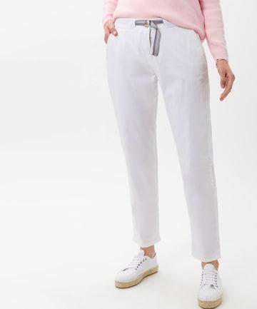 BRAX Chino Pants 'Mel' in White