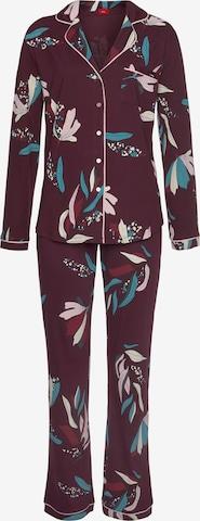 s.Oliver Pyjama in Rot