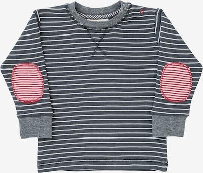 People Wear Organic Shirt in grau / graumeliert / rot / weiß, Produktansicht
