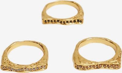 MANGO Bague 'Maya' en or, Vue avec produit