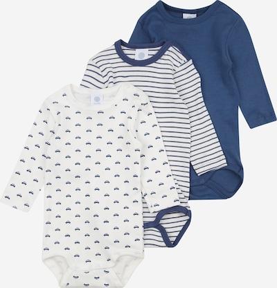 SANETTA Pijama entero/body en azul oscuro / blanco, Vista del producto