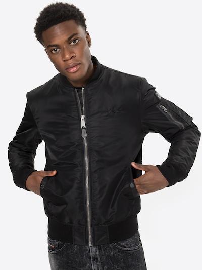 Schott NYC Prehodna jakna | črna barva, Prikaz modela